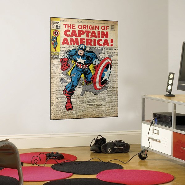 Wall Stickers: Captain America