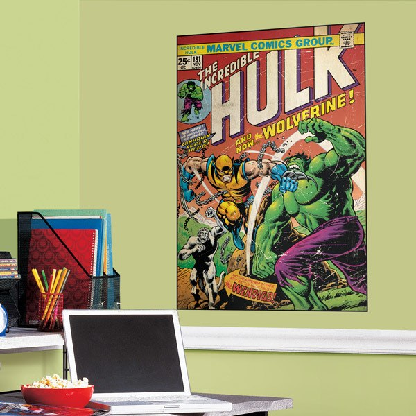Wall Stickers: The Incredible Hulk