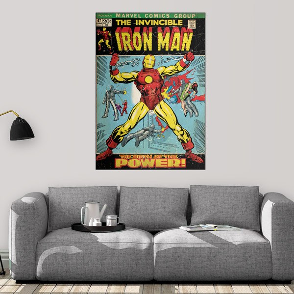 Wall Stickers: The Invincible Iron Man