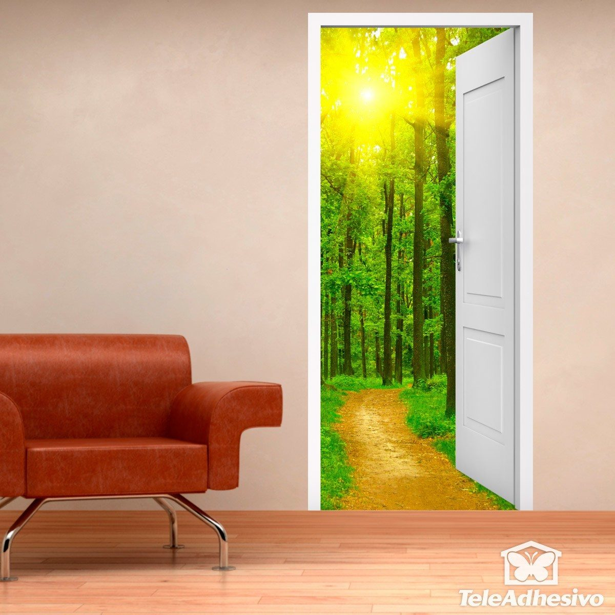 Wall Stickers: Open door to the forest