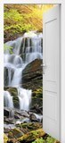 Wall Murals: Open door waterfall 5