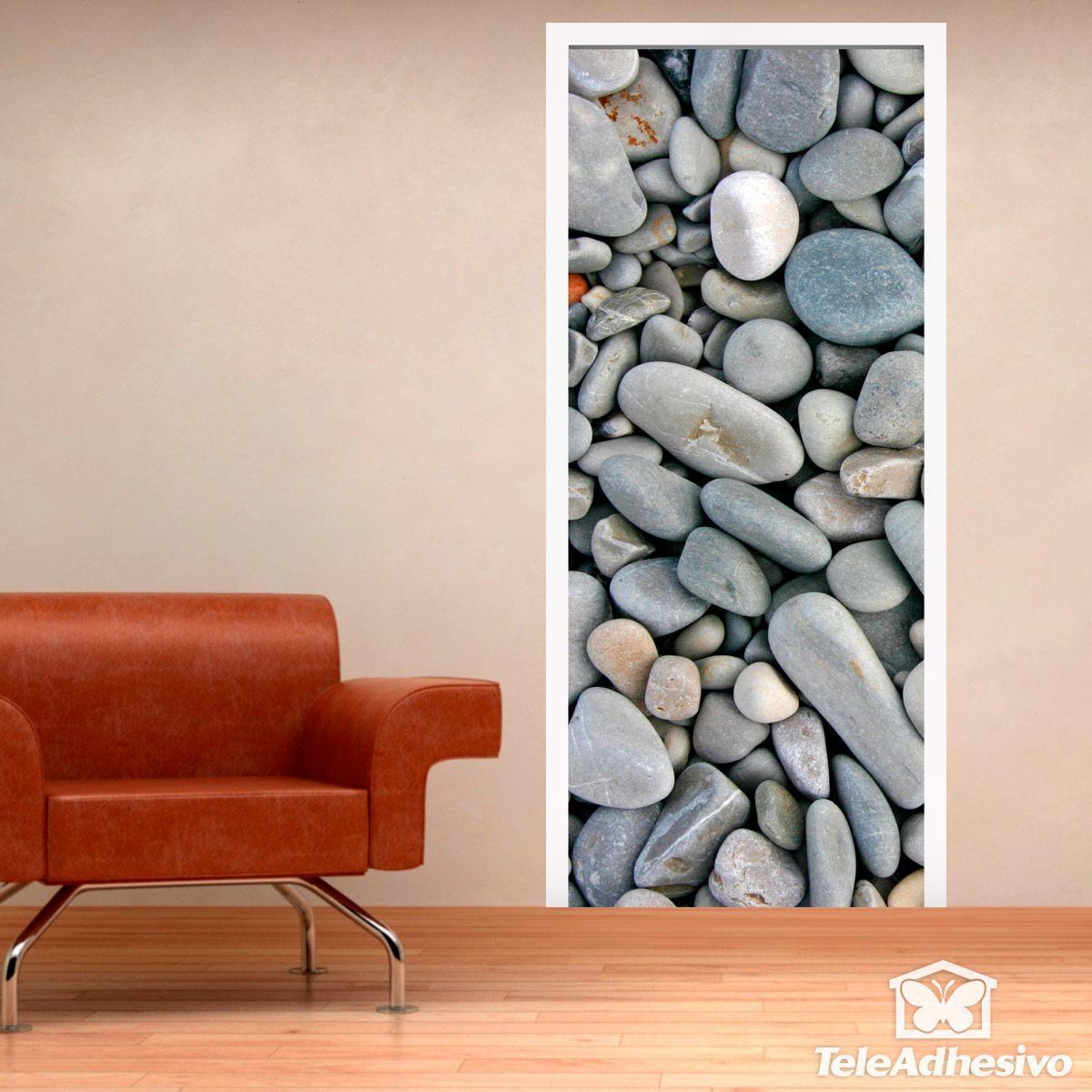 door stones rounded wall stickers door stones rounded