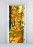 Wall Stickers: Forest path in autumn 5