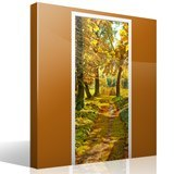 Wall Stickers: Forest path in autumn 7