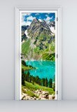 Wall Stickers: Door mountain and a lake 5