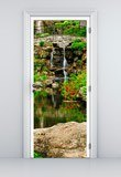 Wall Stickers: Door pond and gardens 5