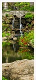 Wall Stickers: Door pond and gardens 6