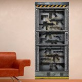 Wall Stickers: Armory Science fiction 3