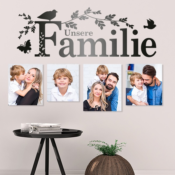 Wall Stickers: Unsere Familie