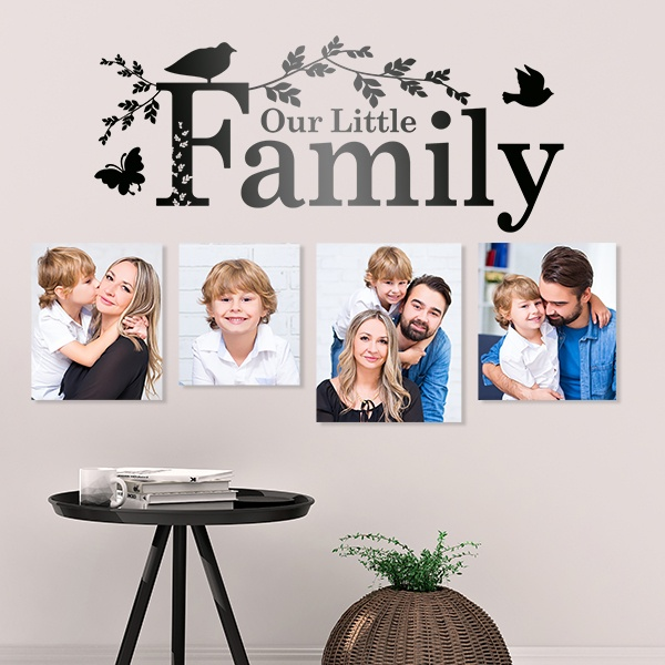 Wall Stickers: Wall sticker Our family