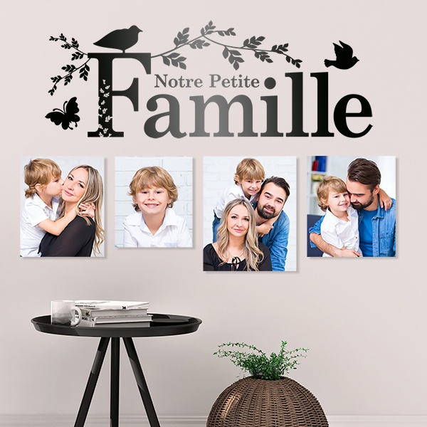 Wall Stickers: Notre famille