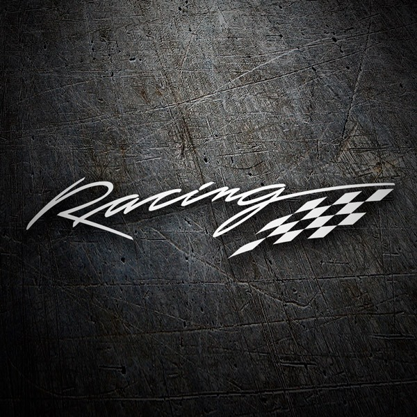 Car & Motorbike Stickers: Racing
