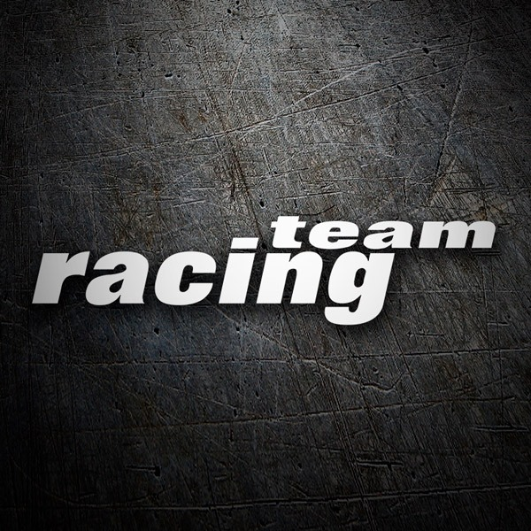 Car & Motorbike Stickers: Racing Team