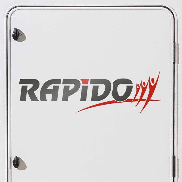 Car & Motorbike Stickers: Rapido multicolour