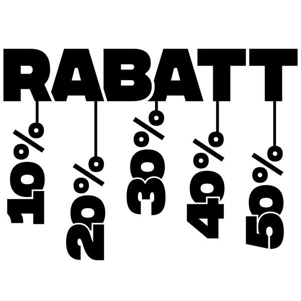 Wall Stickers: Rabatt with discounts
