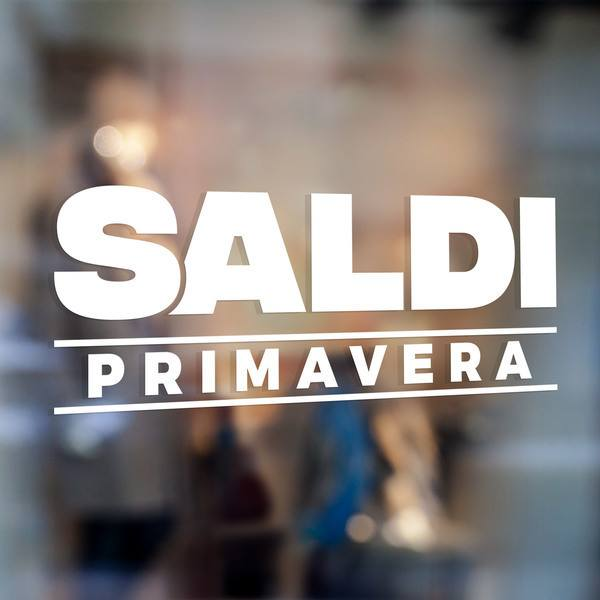 Wall Stickers: Saldi Primavera