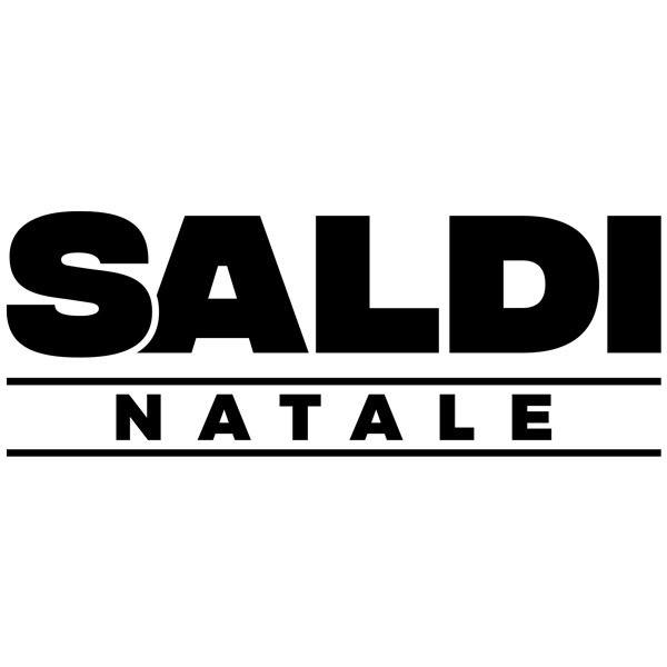 Wall Stickers: Saldi Natale