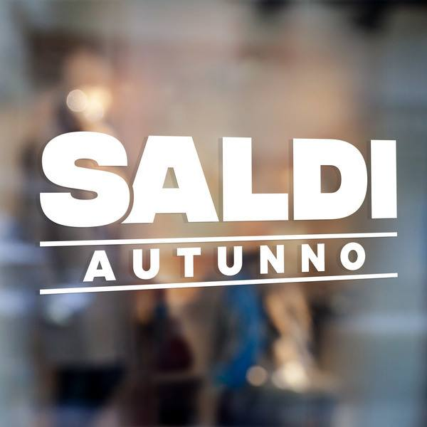 Wall Stickers: Saldi Autunno