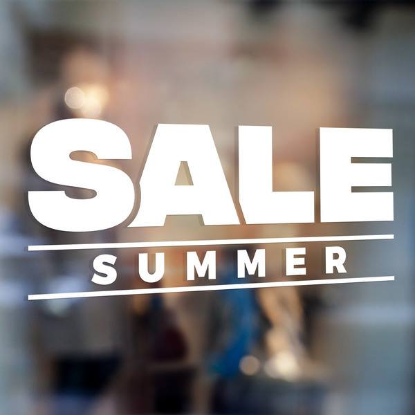 Wall Stickers: Sale Summer