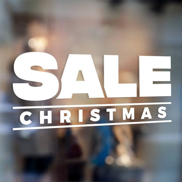 Wall Stickers: Sale Christmas