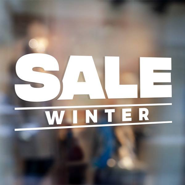 Wall Stickers: Sale Winter