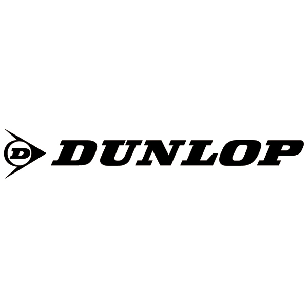 Car & Motorbike Stickers: Dunlop