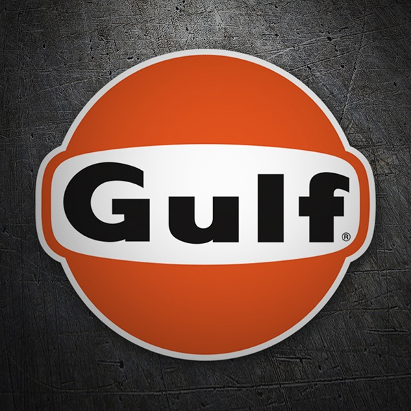 Car & Motorbike Stickers: Gulf 2