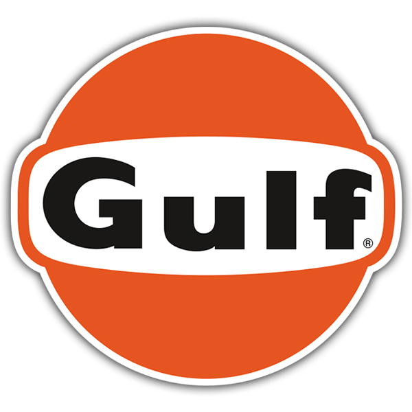 Car and Motorbike Stickers: Gulf 2