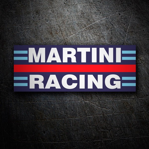 Car & Motorbike Stickers: Martini racing