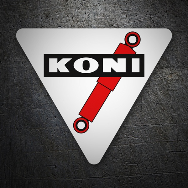 Car & Motorbike Stickers: Koni