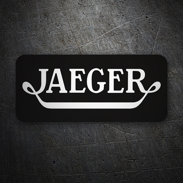 Car & Motorbike Stickers: Jaeger