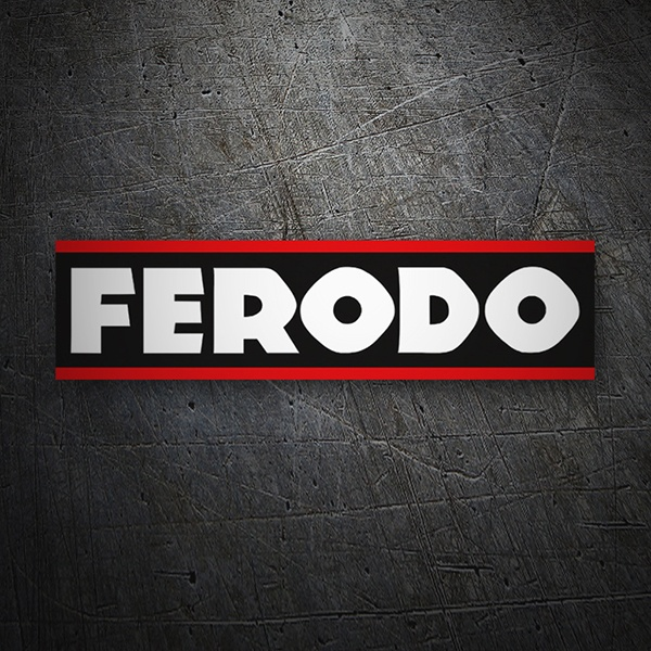 Car & Motorbike Stickers: Ferodo