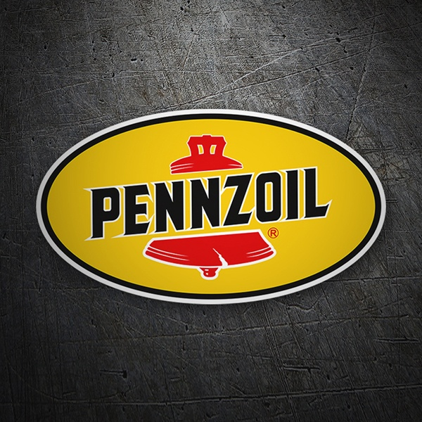Car & Motorbike Stickers: Penzoil
