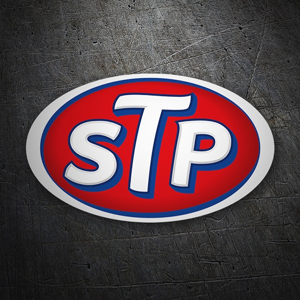 Car & Motorbike Stickers: STP