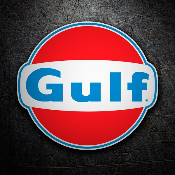 Car & Motorbike Stickers: Gulf