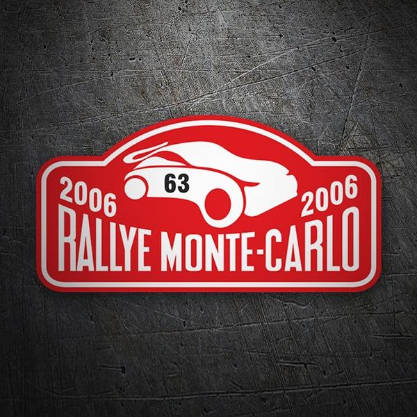 Automobilia Autocollant Trophée Cibié Rallyes Excellent Quality