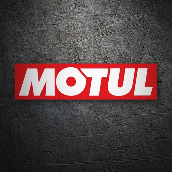 Car & Motorbike Stickers: Motul