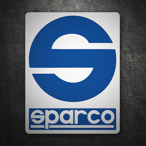 Car & Motorbike Stickers: Sparco