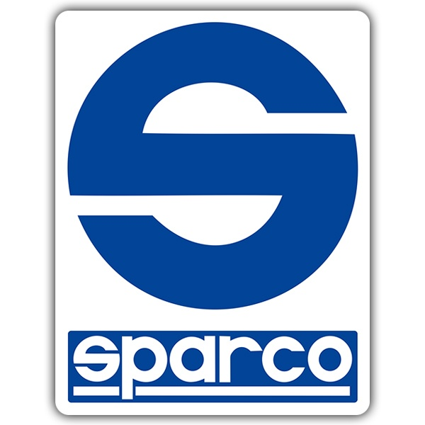 Car and Motorbike Stickers: Sparco
