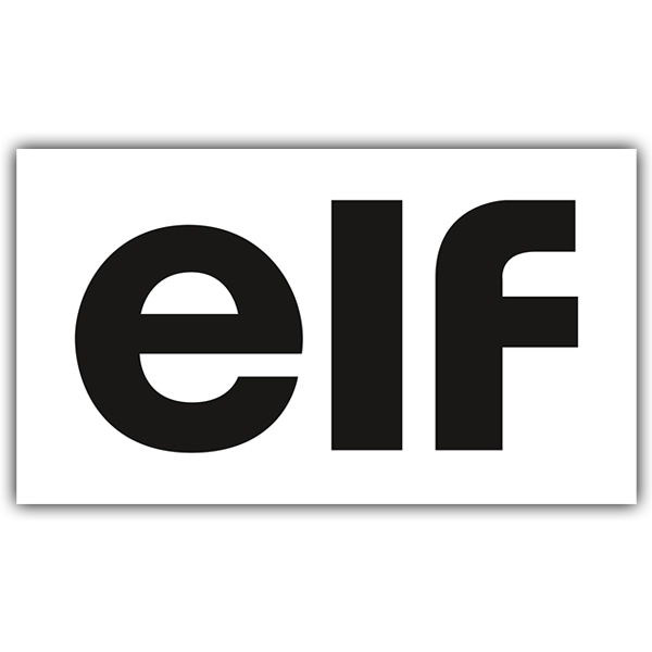 Car and Motorbike Stickers: Elf