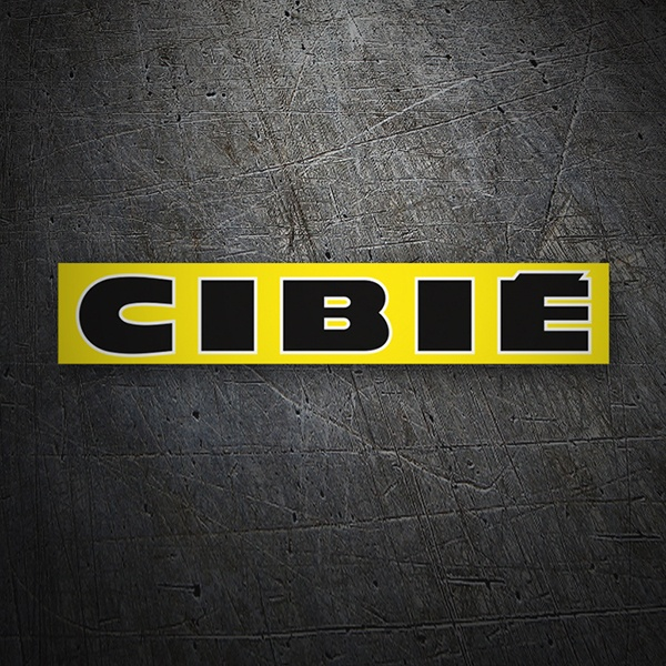 Car & Motorbike Stickers: Cibie