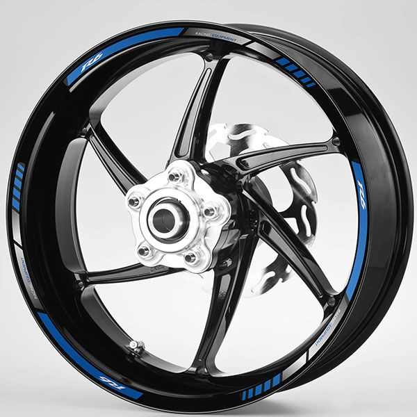 Car & Motorbike Stickers: Rim stripes Yamaha R6