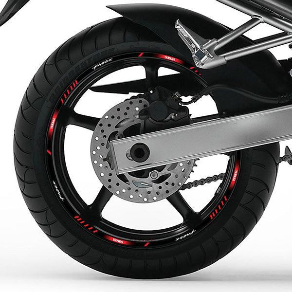 Car & Motorbike Stickers: Rim stripes Yamaha Fazer FZ6