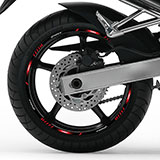Car & Motorbike Stickers: Rim stripes Yamaha Fazer FZ6 5