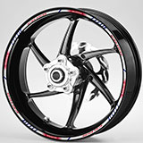 Car & Motorbike Stickers: Rim stripes sticker Honda CG 150 4
