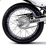 Car & Motorbike Stickers: Rim stripes sticker Yamaha XTZ 125 5