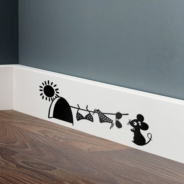 Wall Stickers: Bikini in the Sun