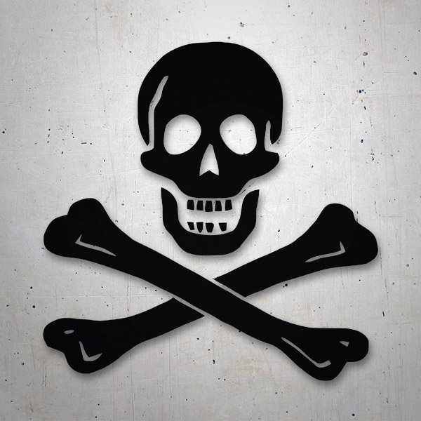 Car & Motorbike Stickers: Edward England Pirate