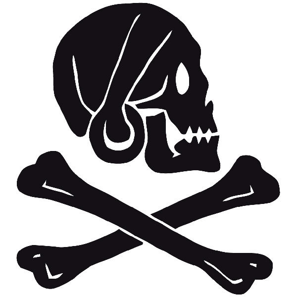 Car and Motorbike Stickers: Pirate Henry Every