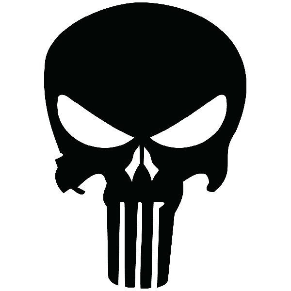 Car & Motorbike Stickers: The Punisher